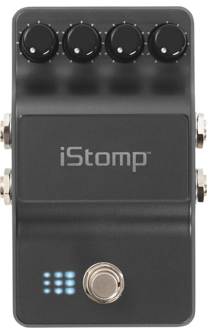 DigiTech iStomp Single (no iOS Cable) Effects Pedal chorus delay reverb phaser