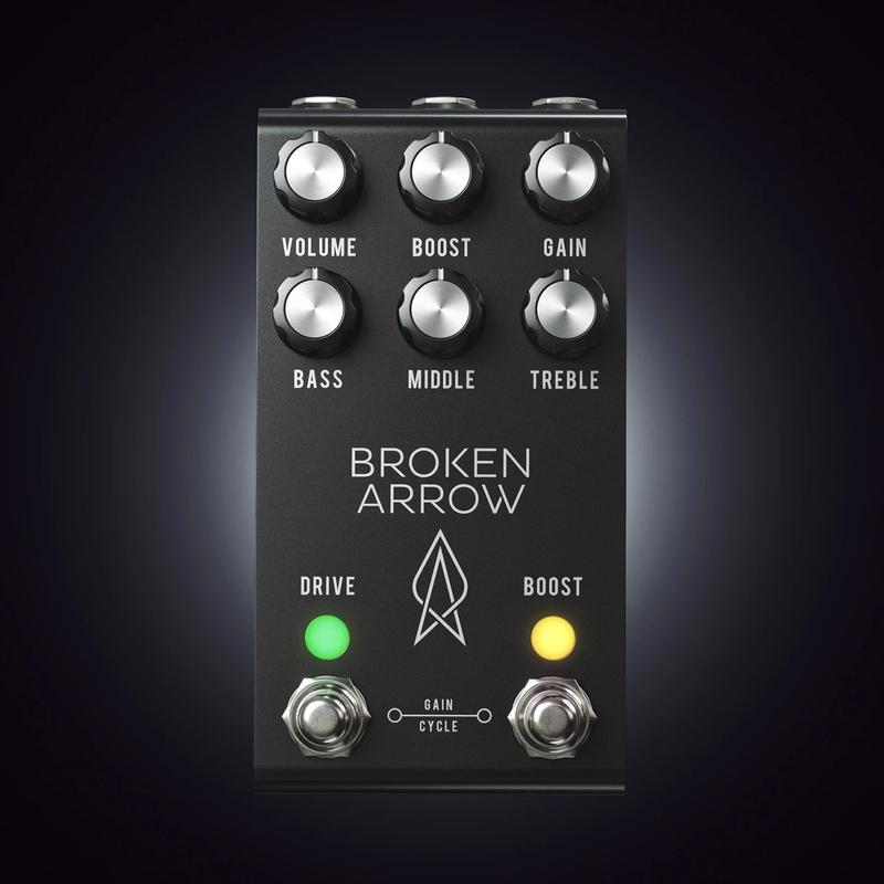 Jackson Audio Broken Arrow V2 MIDI Overdrive Pedal