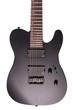ESP LTD TE-417 7-String Electric Guitar, EMG Pickups - Black Satin Finish