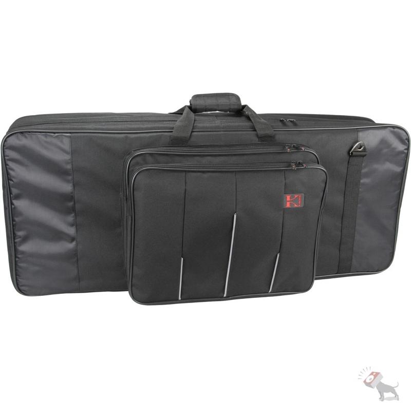 Kaces 6-KB Xpress Series Water-Resistant Bag for 61-Key Keyboards