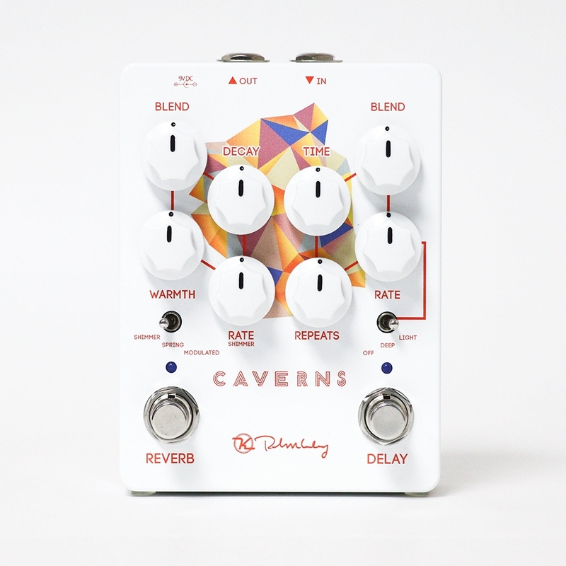 Keeley Caverns V2 Delay and Reverb Guitar Effects Pedal