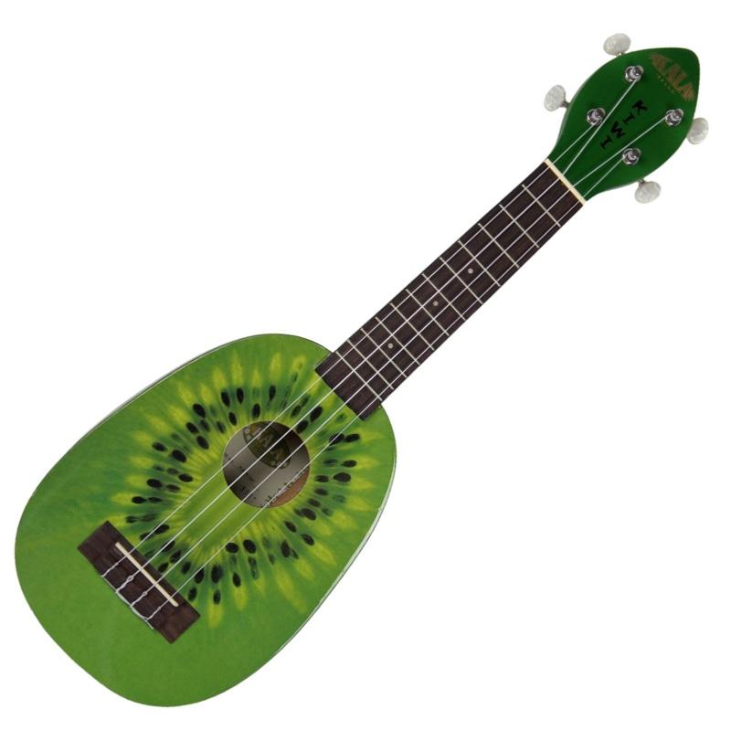 Kala KA-KIWI Soprano Kiwi Style Ukulele Mahogany Neck Faux Tortoise KIWI Uke