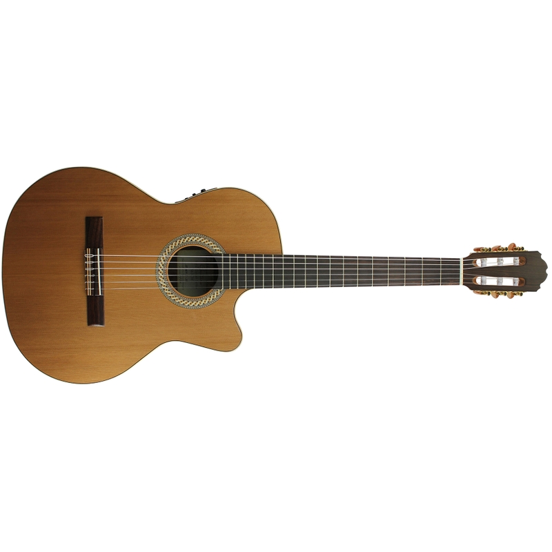 Kremona Sofia S63CW Acoustic Electric Classic Nylon String Guitar, Sapele Back & Sides, Solid Red Cedar Top
