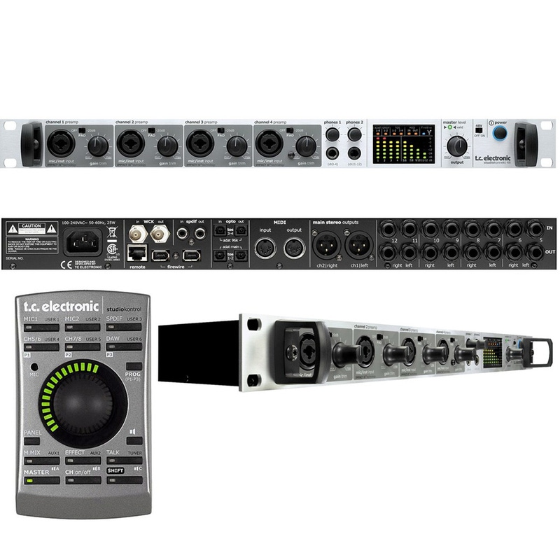 TC Electronic Studio Konnekt 48 Firewire Audio Recording Interface w/ Remote