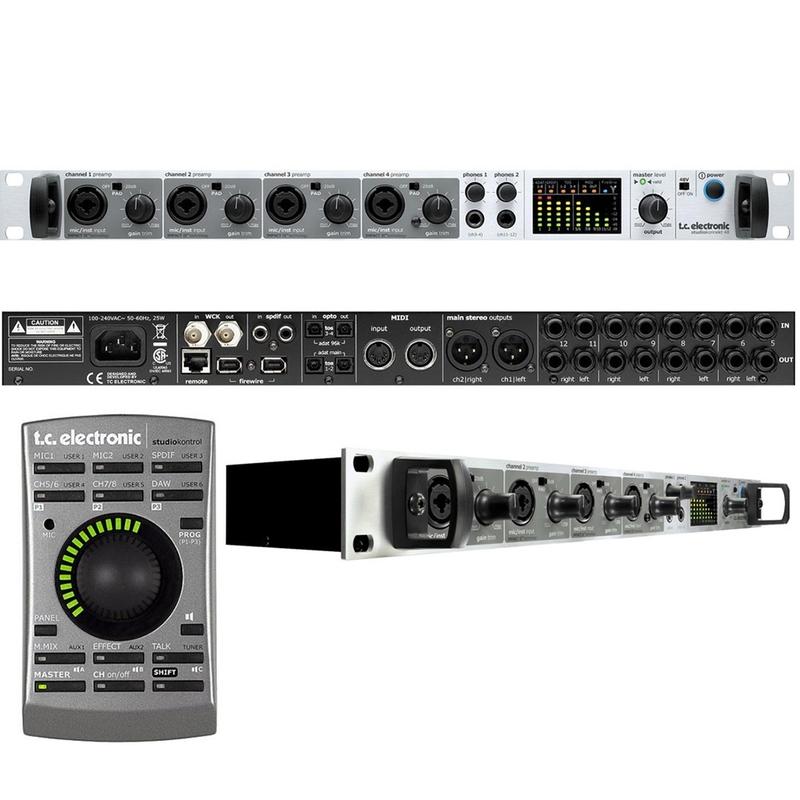 TC Electronic Studio Konnekt 48 Firewire Audio Recording Interface w/ Remote