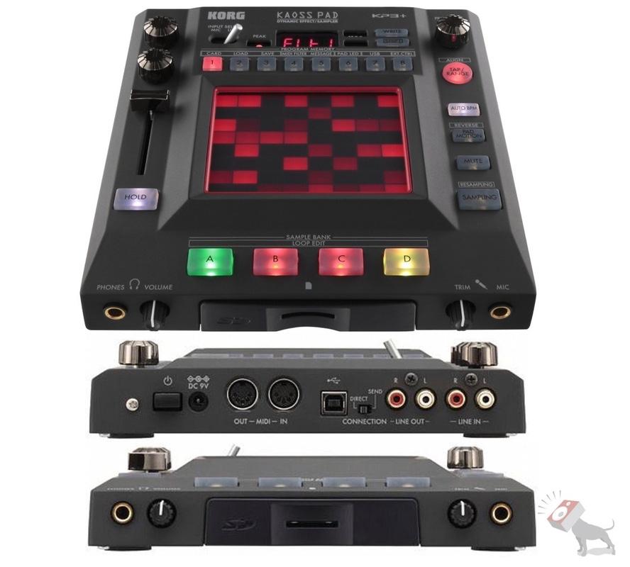 Korg Kaoss Pad KP3 Plus Dynamic DJ Effects Sampler USB MIDI SD Storage Touchpad