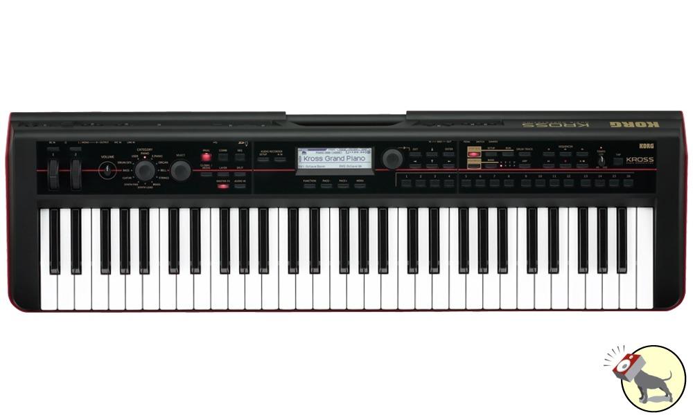 korg kross 61 key music workstation keyboard portable synthesizer ebay. Black Bedroom Furniture Sets. Home Design Ideas