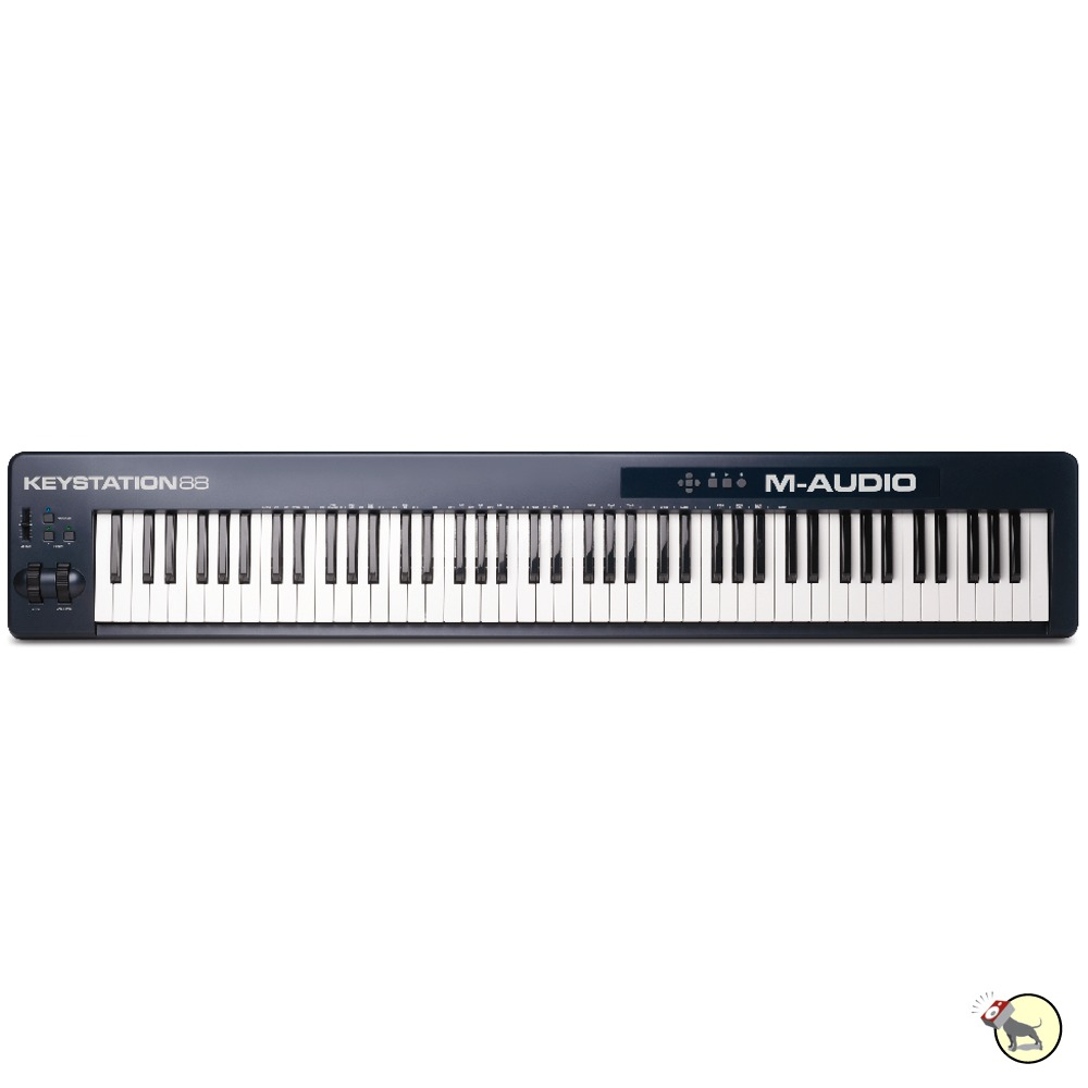 Laptop m audio 88 note keystation keyboard added that