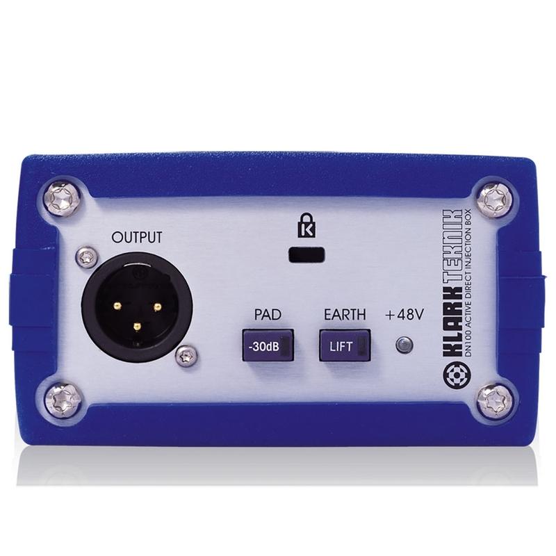 Klark Teknik DN100 Active DI Box with Extended Dynamic Range