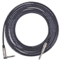 Lava Cable Magma Instrument Cable, Straight to Right-Angle, 20 ft