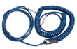 Lava Cable Blue Demon Split Coil Instrument Cable Coiled to Straight 35'