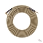 Lava Cable LCVN20R Vintage Tweed Straight-to-Right-Angle Guitar Bass Instrument Cable, 20 ft