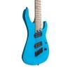 Legator Ninja N8FS 8-String Multi-Scale Guitar, Maple Fretboard, Sonic Blue