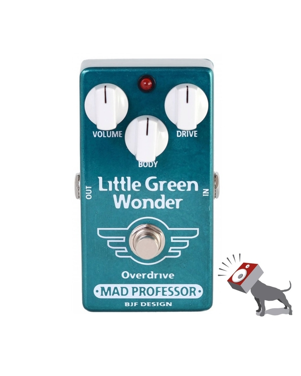 Mad Professor Little Green Wonder Overdrive Guitar Effects Pedal LGW
