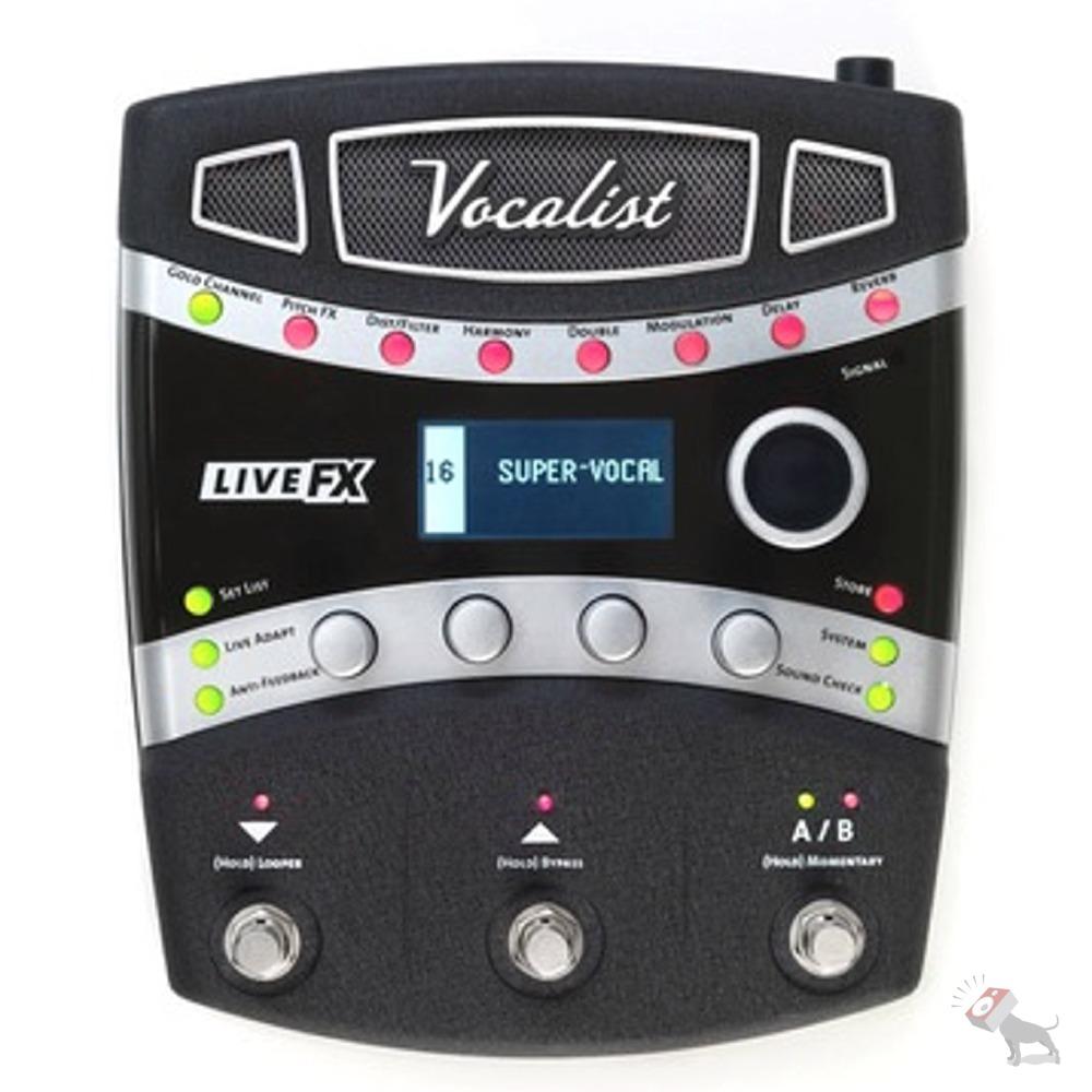 digitech vocalist live fx vocal effects processor lexicon reverb dbx compression ebay. Black Bedroom Furniture Sets. Home Design Ideas