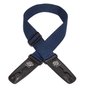 "Lock-It Straps Professional Gig Series 2"" Navy Blue Poly Strap with Locking Ends"