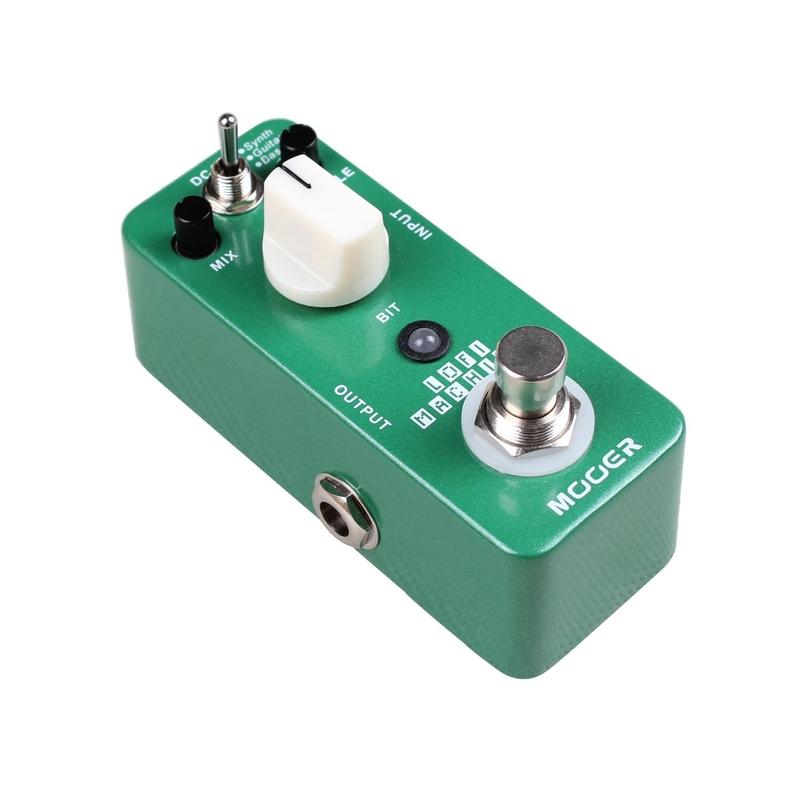 Mooer LoFi Machine Sample reducing pedal 3 mode true bypass guitar pedal