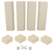 Primacoustic LONDON 10 Acoustic Room Treatment Kit with Eight Control Columns and 12 Scatter Blocks - Beige