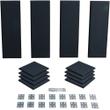Primacoustic London 8 Studio Audio Acoustic Room Treatment Kit 12-Panel Black