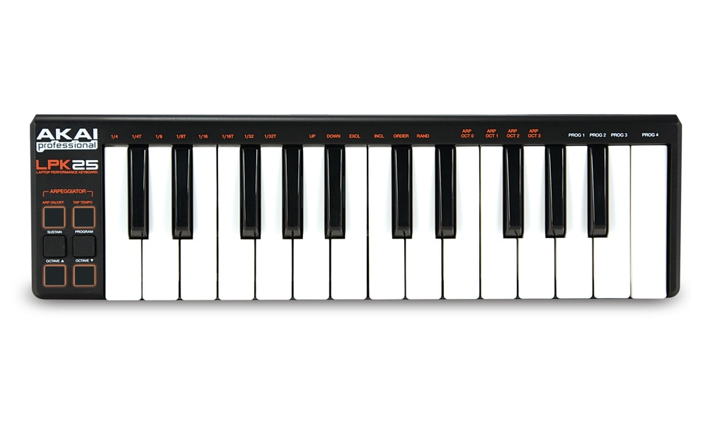 Akai LPK25 MIDI USB Laptop Performance Keyboard LPK 25
