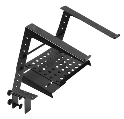 On-Stage Stands LPT-6000 Multi-purpose Laptop Portable DJ Computer Stand LPT6000