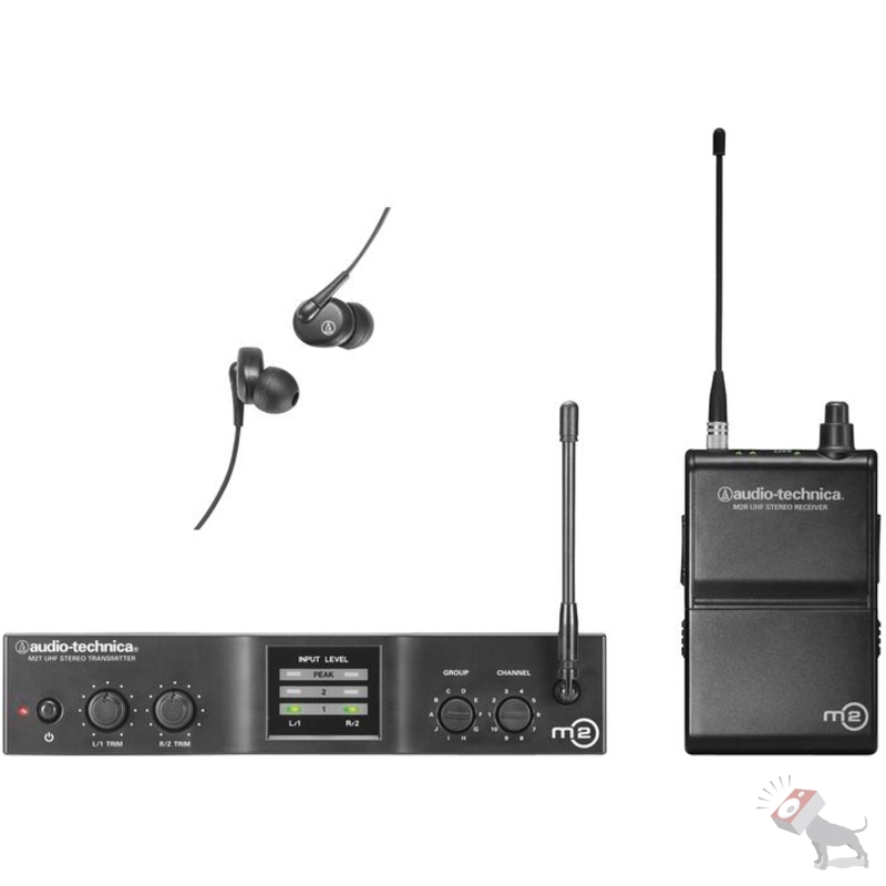 Audio Technica M2M In-Ear Wireless Monitor System