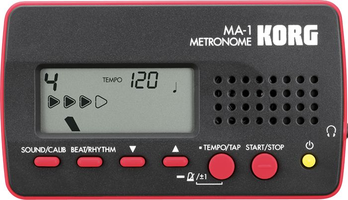 Korg MA-1 Digital Solo Metronome Red