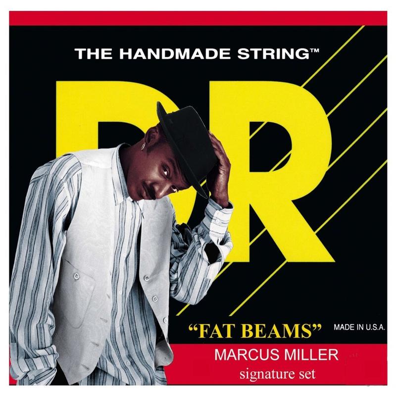 DR MM-45 Fat Beams Marcus Miller Medium Bass Strings (45-105)