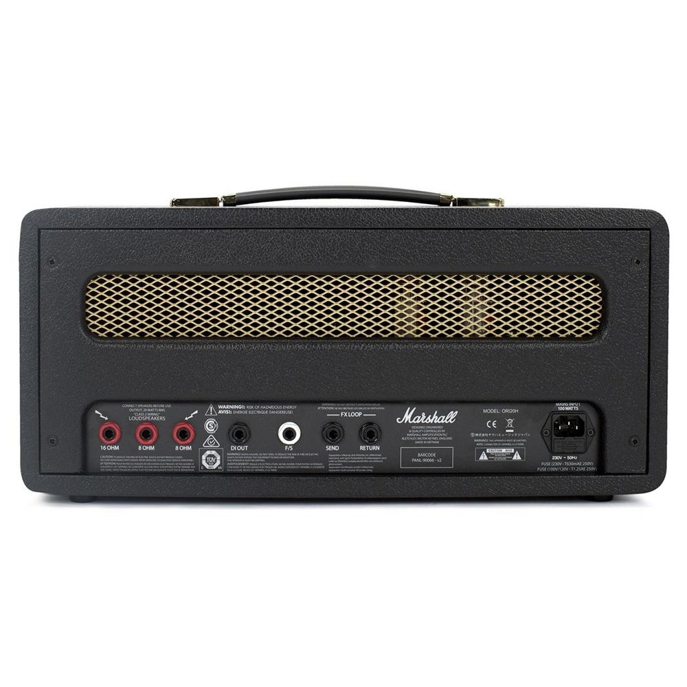 pitbull audio marshall ori20h origin series 20 watt single channel tube guitar amplifier head. Black Bedroom Furniture Sets. Home Design Ideas