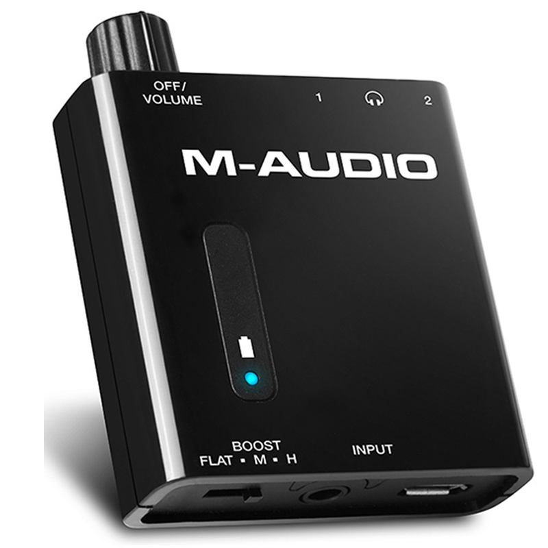 M-Audio Bass Traveler Portable Powered Headphone Amplifier