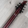 Mayones Duvell Elite Pro 7 Guitar, 7-String, Ebony Fingerboard, Trans Graphite