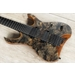 Mayones Hydra Elite 7 - 7-String Guitar, Trans Graphite Satin, Ebony Fretboard, Eye Poplar Top, Duncan Pickups