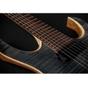 Mayones Duvell 7 Standard T-GRA-M 7-String Flamed Maple Top Trans Graphite Matte Finish Seymour Duncan Pickups w/ Hardshell Case