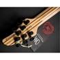 Mayones Regius 6MM CW Djentlemen Misha Mansoor Signature Series Electric Guitar Transparent Natural Oil Finish with Hard Case