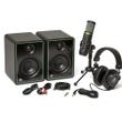 Mackie Creator Bundle Podcasting Streaming Monitors Mic Headphones Package