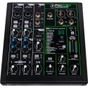 Mackie ProFX6V3 Mixer, 2 Onyx Mic Pres, GigFX Effects Engine, 2x4 USB Recording