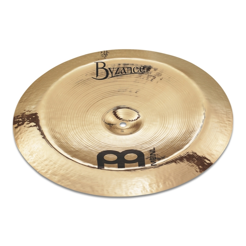 """Meinl B18CH-B Byzance Brilliant China Cymbal, Brilliant Finish - 18"""""""