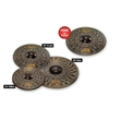 MEINL CCD460+18 Cymbals Classics Custom Dark Cymbal Set, 14 16 20 w/ 18'' Crash