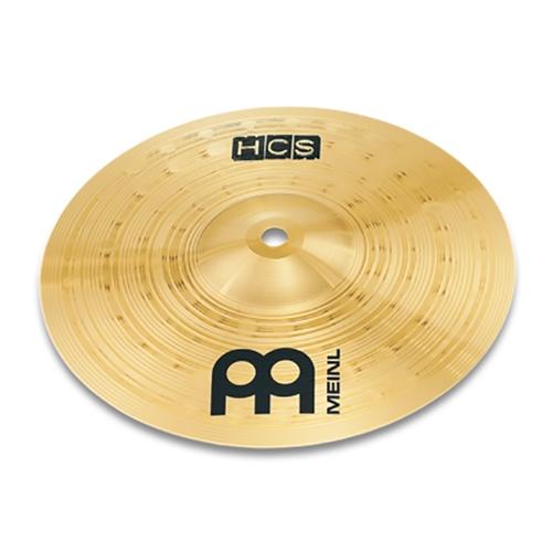 "Meinl HCS8S 8"" HCS Splash Cymbal, HCS Traditional Finish Brass"