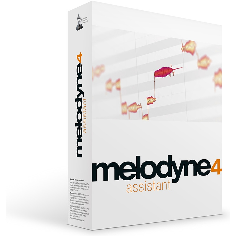 Celemony Melodyne 4 ASSISTANT Pitch and Time Shifting Software (Electronic Delivery)