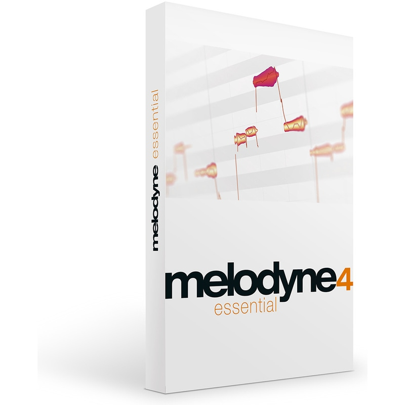 Celemony Melodyne 4 ESSENTIAL Pitch and Time Shifting Software (Electronic Delivery)