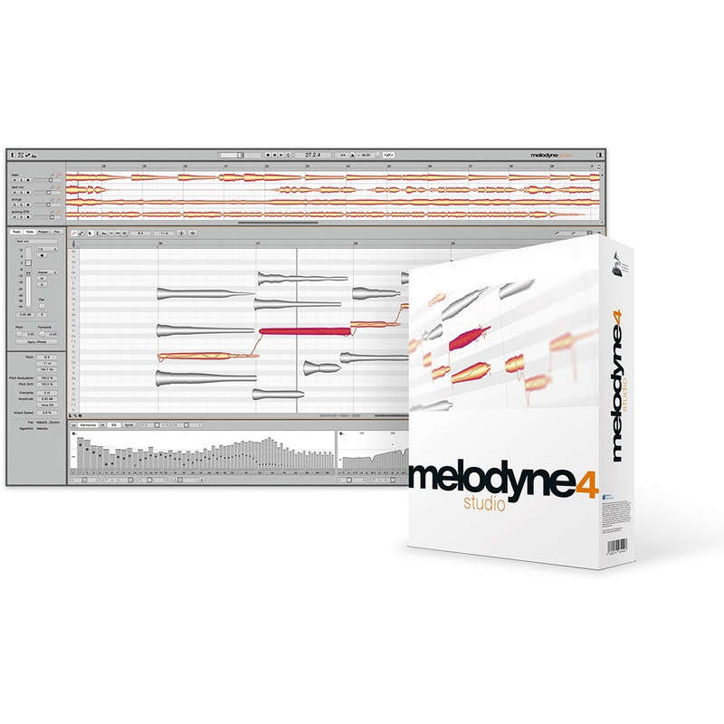 Celemony Melodyne 4 ESSENTIAL to STUDIO UPGRADE Pitch and Time Shifting Software (Electronic Delivery)