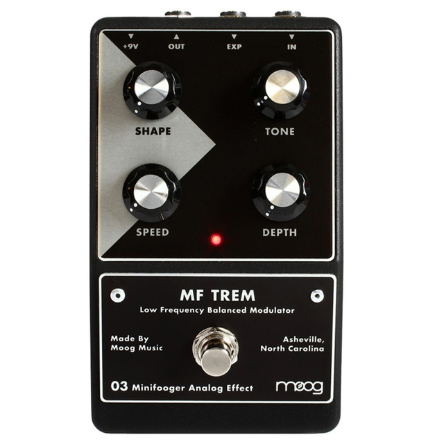 Moog Minifooger MF Trem Analog Effects Pedal