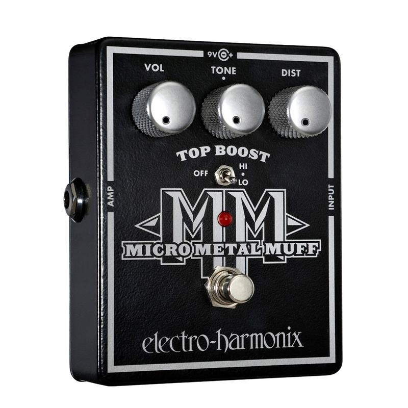 Electro-Harmonix XO Micro Metal Muff Distortion with Top Boost Pedal
