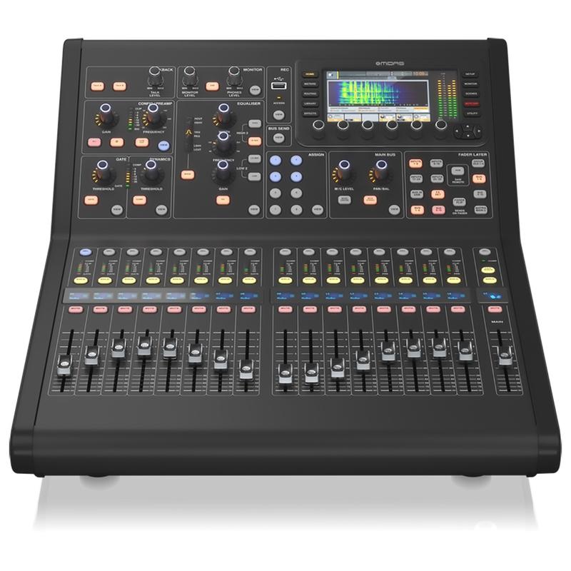 Midas M32R Live Digital Mixer Console, 40 Inputs, 16 Midas Preamps, 25 Buses