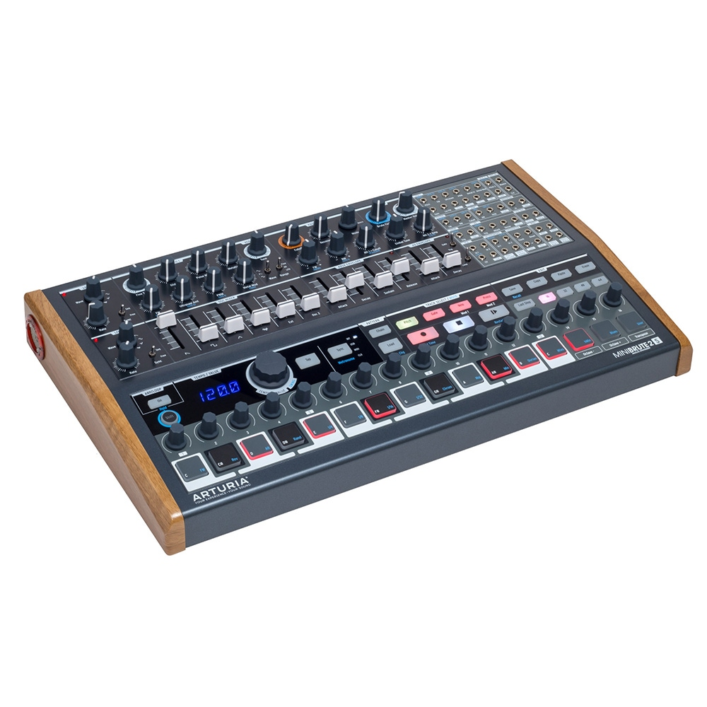 pitbull audio arturia minibrute 2s semi modular synthesizer sequencer b stock. Black Bedroom Furniture Sets. Home Design Ideas