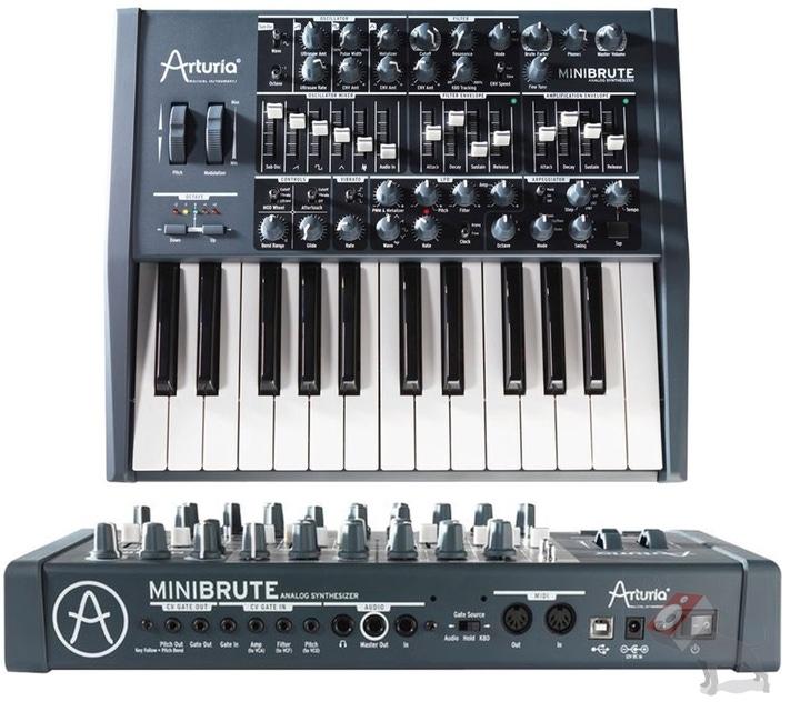 Arturia Minibrute Analog Synthesizer MIDI Synth Keyboard Mini Brute 25 Key