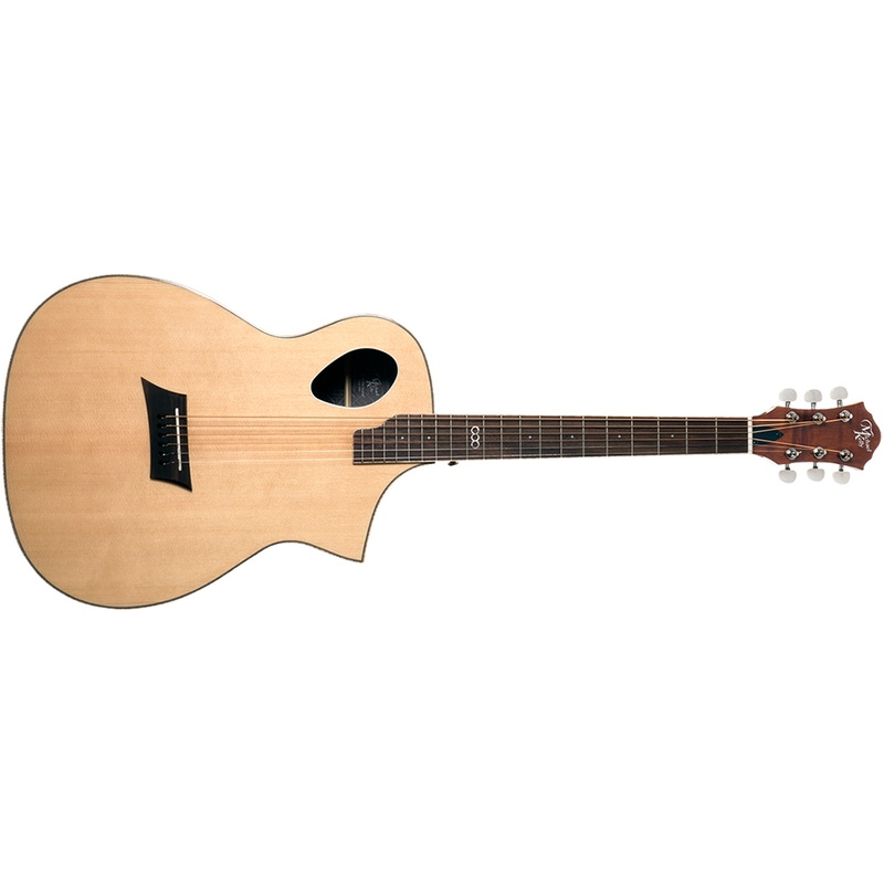 Michael Kelly MKTPSGNSFZ Triad Port Acoustic Electric Guitar, Solid Spruce Top