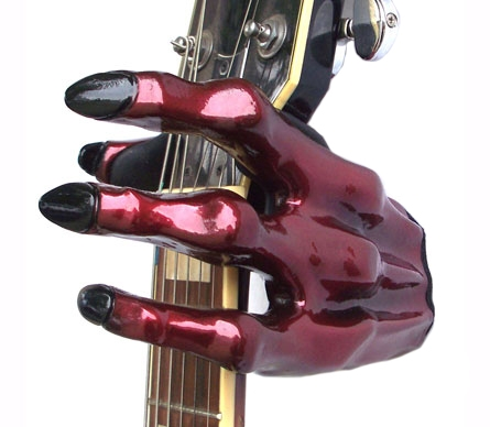 Guitar Grip GS-2 Series Custom Guitar Hanger (Monster Red)