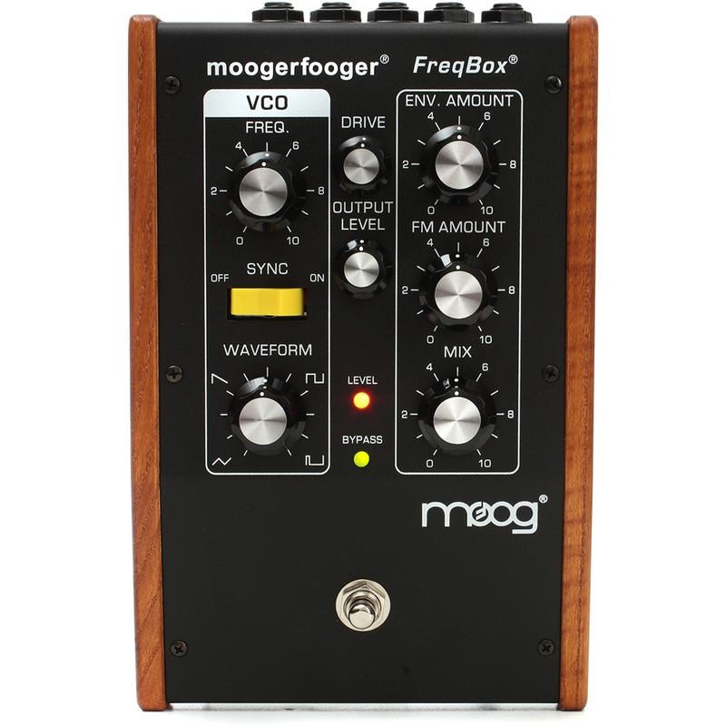 Moog MF107 Moogerfooger FreqBox Effects Pedal for Guitar, Bass, and Synth